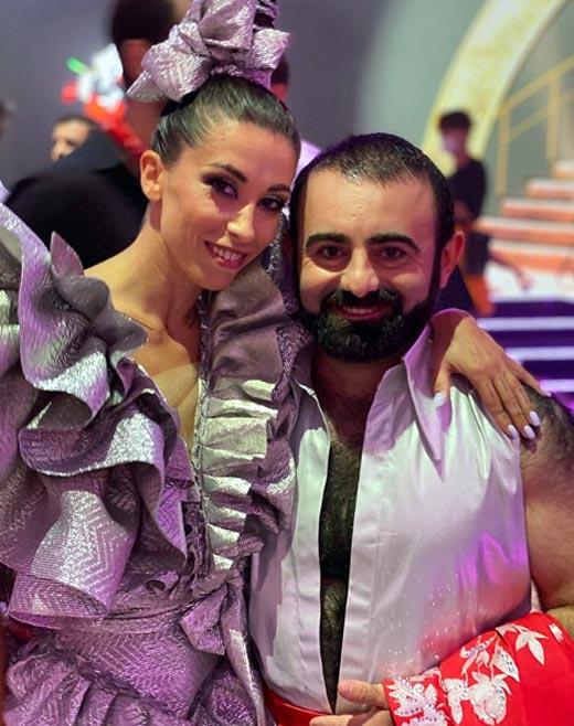 Арам Арзуманян и Антонина Руденко
