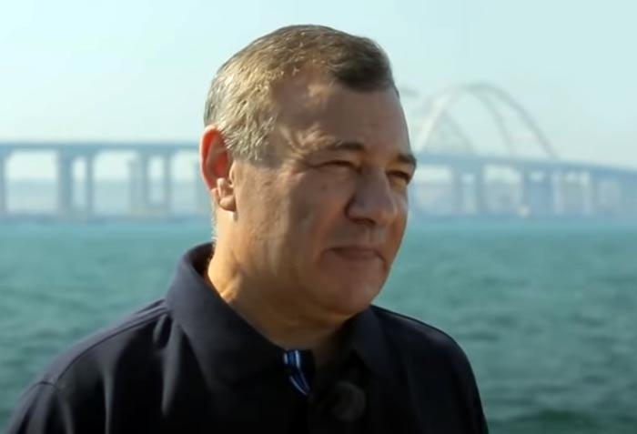 Аркадий Ротенберг Крымский мост