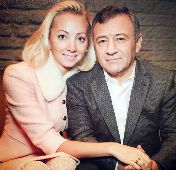 Аркадий Ротенберг и бывшая жена Наталья Ротенберг