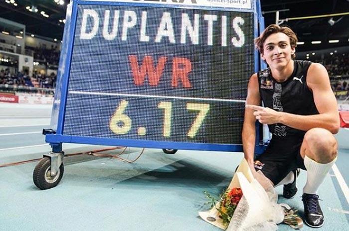 Арман Дюплантис рекорд 6 метров 17 сантиметров