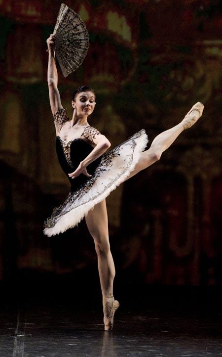 Наталья Осипова танцует