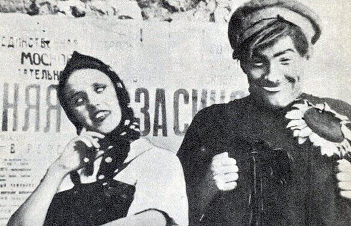 Борис Тенин и Клавдия Коренева