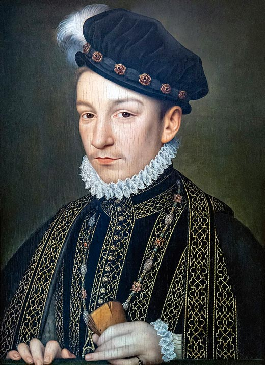король Франции Карл IX Валуа