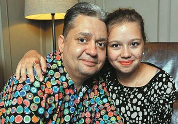 Дмитрий Барков и дочь Мария