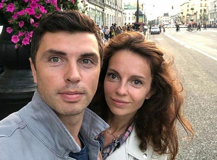 Дмитрий Малашенко и жена Екатерина Говоркова