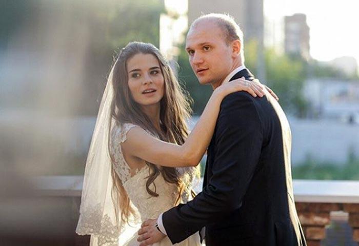 Дмитрий Подадаев и жена Валерия Бурдужа