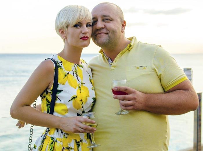 Егор Крутоголов и жена Екатерина