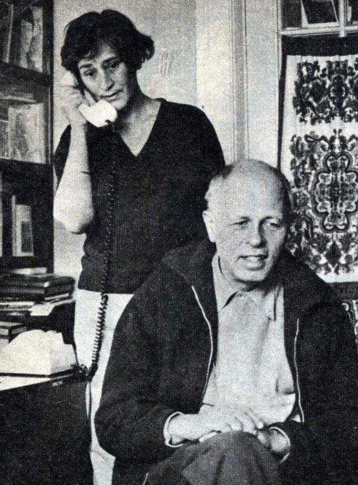 Елена Боннэр и Андрей Сахаров