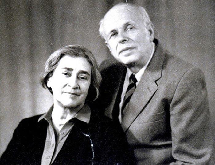 Елена Боннэр и академик Андрей Сахаров