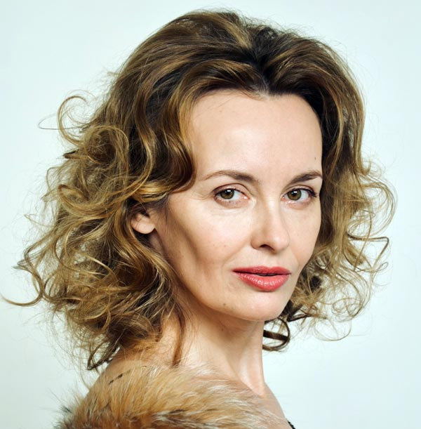 актриса Елена Бурханова-Калинина
