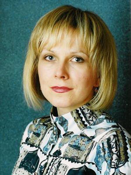 Елена Соловьева в молодости