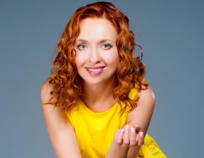 российская актриса Елена Соловьева