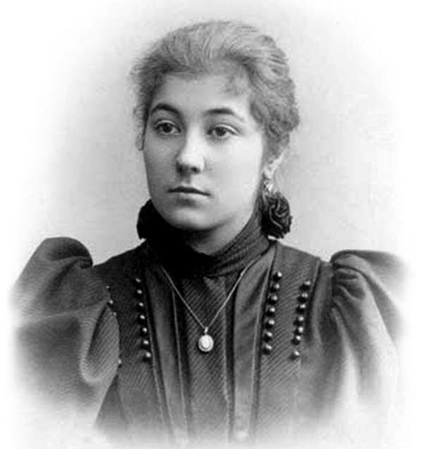 Елена Рерих в молодости