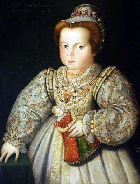 Елизавета I в детстве