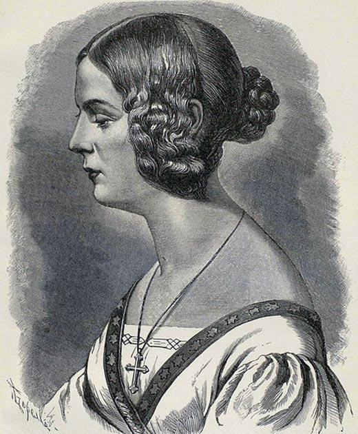 Елизавета Евграфовна Рейтерн жена Василия Жуковского