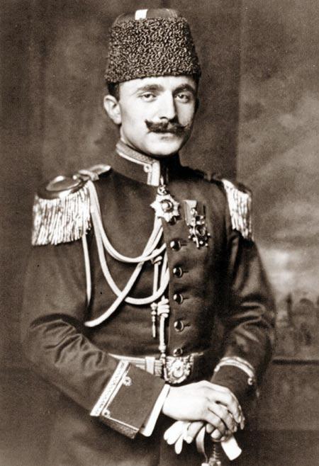 Военный министр Османской империи Энвер-паша