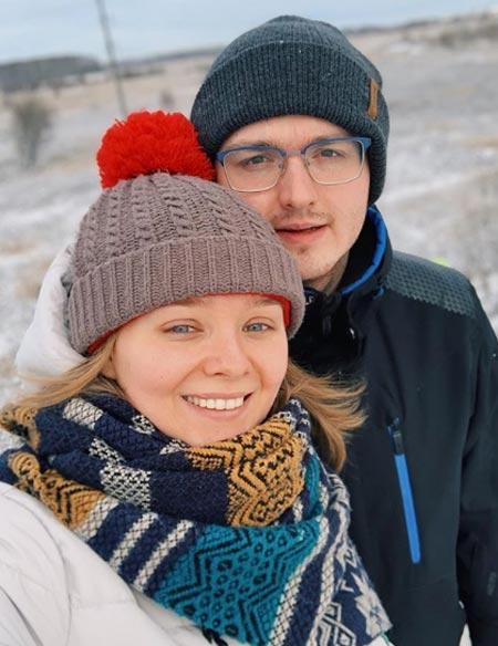Евдокия Лаврухина и муж Александр Казаков