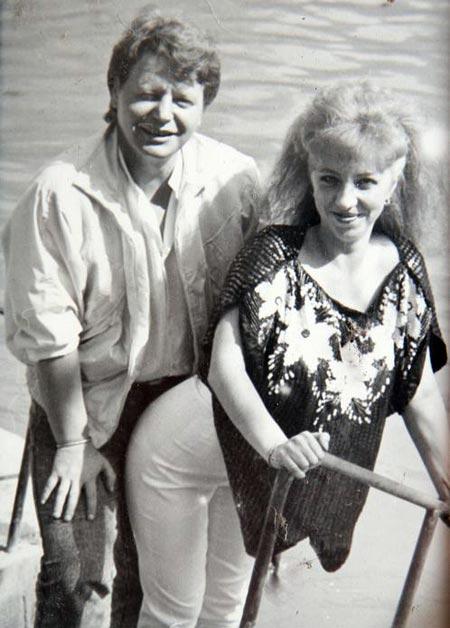 Эвелина Сакуро и муж Александр