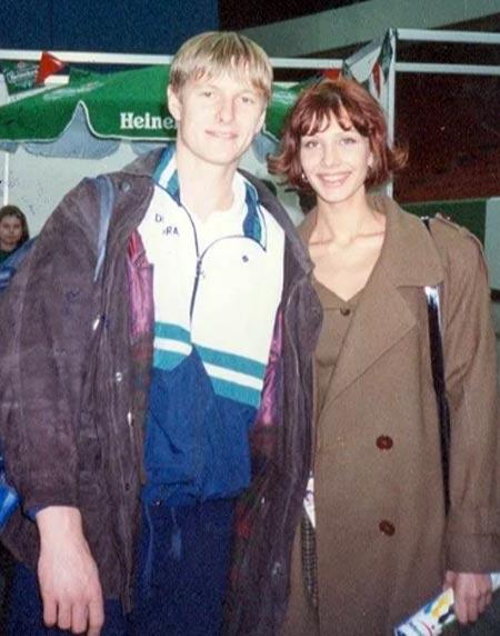 Евгений Кафельников и бывшая жена Мария Тишкова