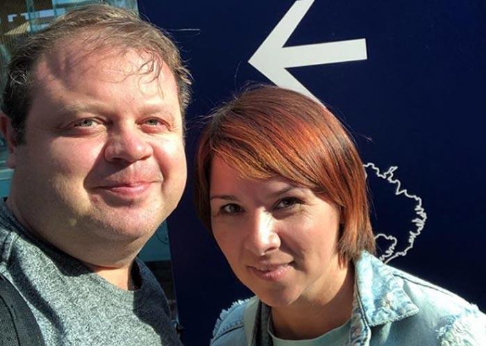 Евгений Никишин и жена Татьяна