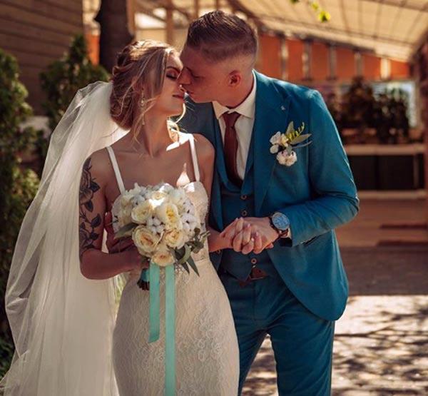свадьба Евгения Панчехина и Алины Панчехиной