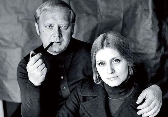 Евгения Уралова и Юрий Визбор
