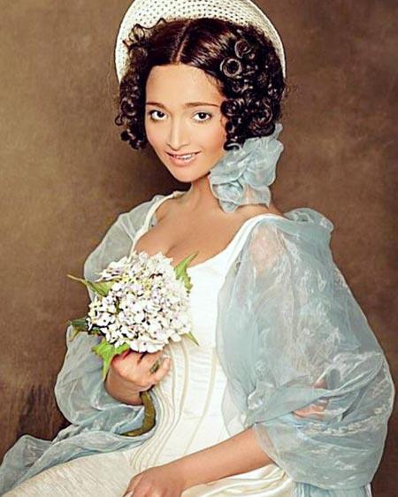 Фатима Абаскулиева в молодости
