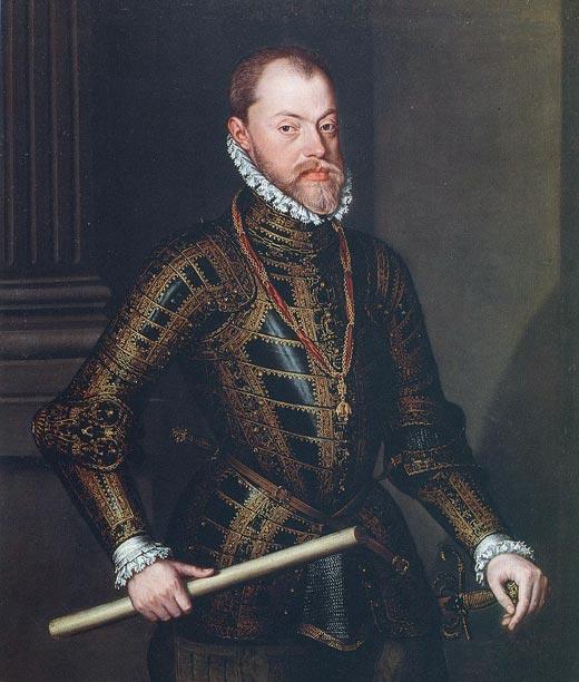 Филипп II муж Марии I Тюдор