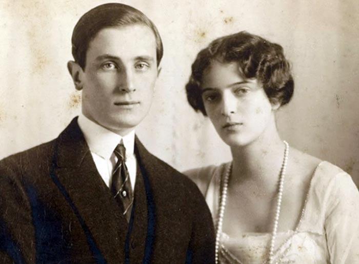 Феликс Юсупов и жена Ирина