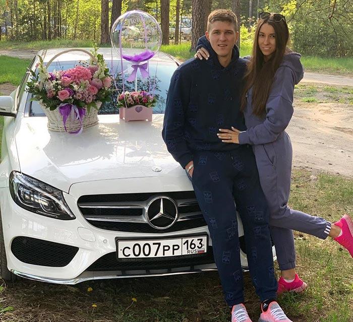 Александр Соболев и жена Елена