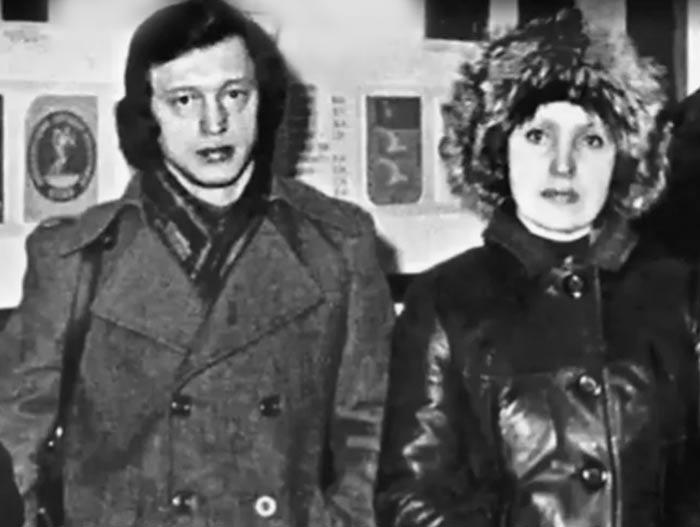 Галина Ненашева и Борис Богрычев