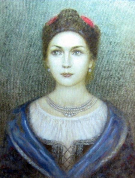 Гелена Чаплинская вторая жена Богдана Хмельницкого