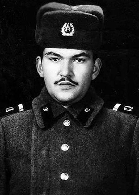 Геннадий Венгеров в молодости