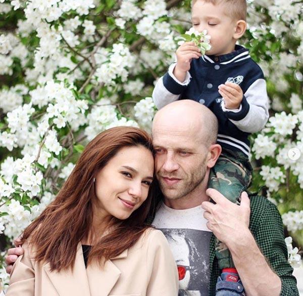 Георгий Болонев и жена Линда Ахметзянова