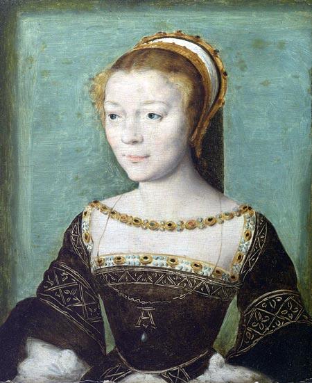 герцогиня д'Этамп фаворитка Франциска I