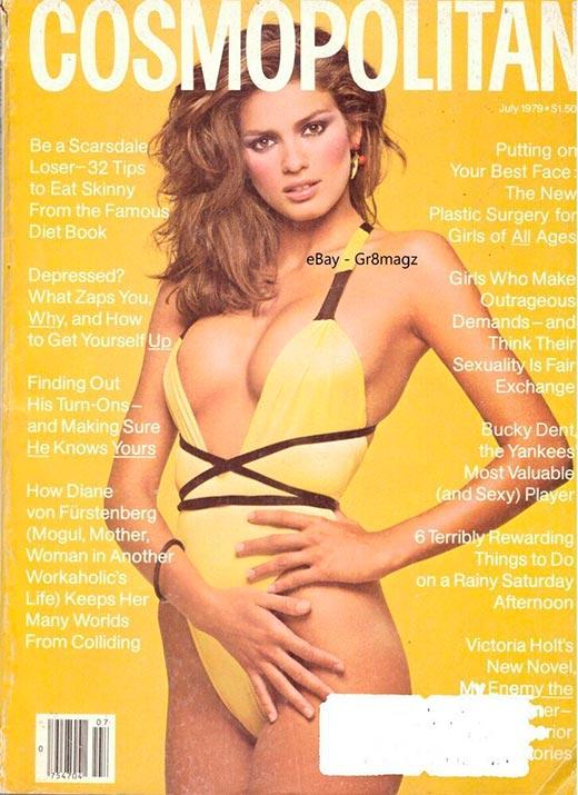 Джиа Каранджи для журнала Cosmopolitan 1979