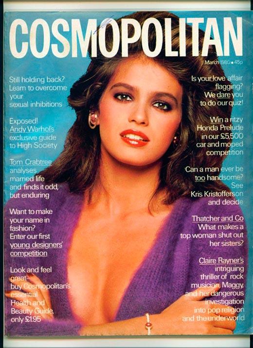 Джиа Каранджи для журнала Cosmopolitan 1980