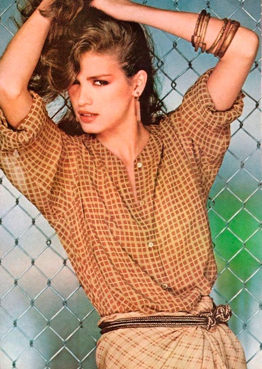 Джиа Каранджи для журнала Vogue 1978