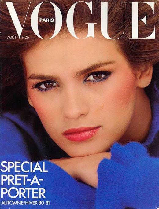 Джиа Каранджи для журнала Vogue 1980