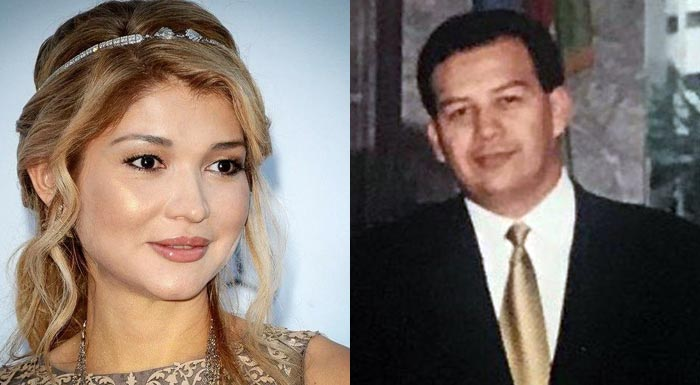 Гульнара Каримова и Мансур Максуди