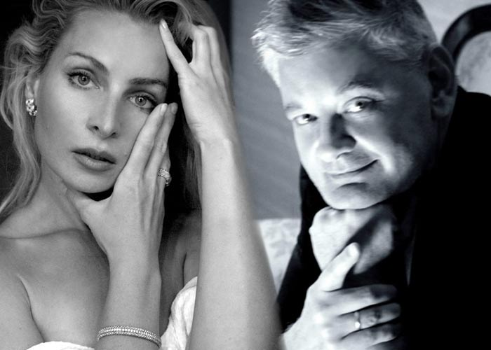 Игорь Зайцев и жена Валерия Вегнер