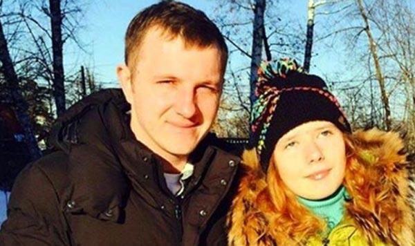 Илья Яббаров и племянница Вероника