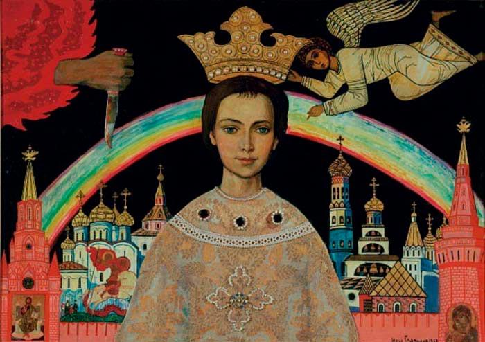 Картина Ильи Глазунова