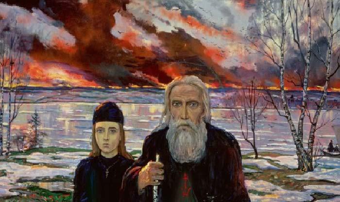 Картина Ильи Глазунова 5
