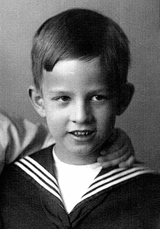 Ингмар Бергман в детстве