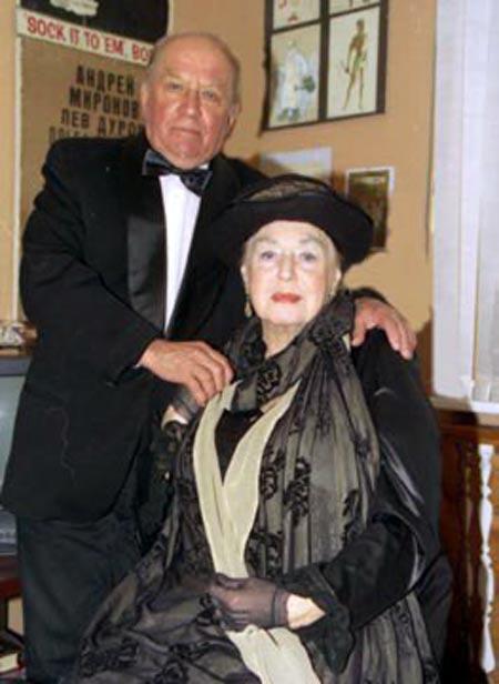 Ирина Кириченко и Лев Дуров