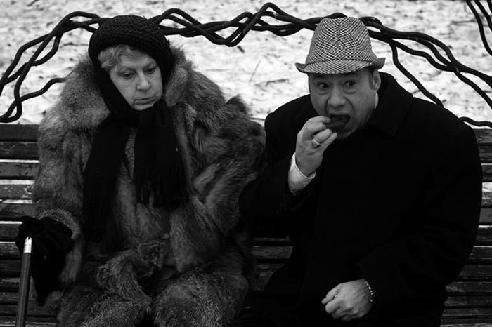 Ирина Соколова в фильме Жизнь человека на ветру