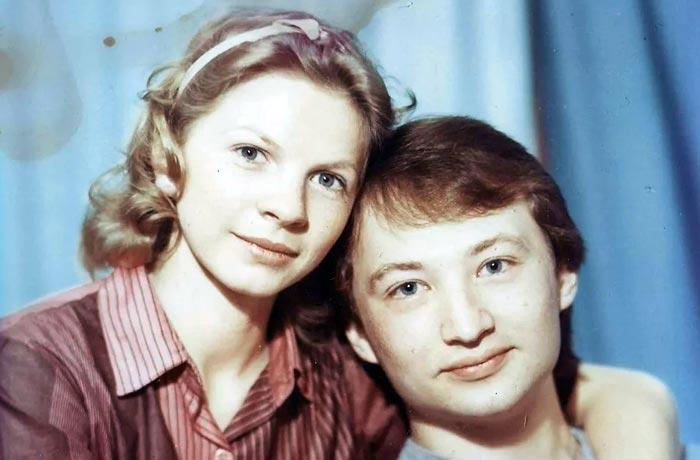 Ирина Ракшина и муж Юрий Гальцев