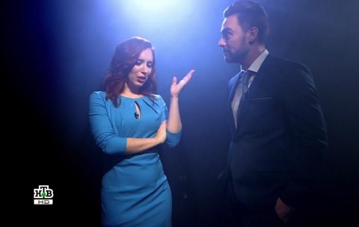 Ирина Шихман и Андрей Самарцев в шоу Двойные стандарты