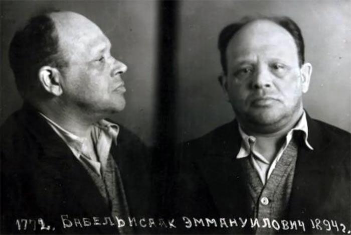 Исаак Бабель во время ареста